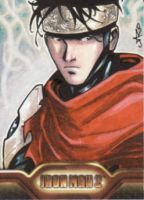 wiccan IM2 sketch card by lazeedog