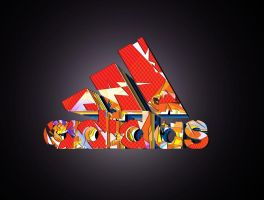 Adidas second logo project by istvanantal