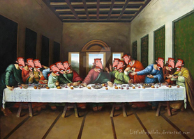 The Last Smashing Supper by LittleNinjaNeko