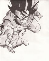 Goku by superheroarts