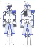 Captain Rex's Armors. by Sonny007