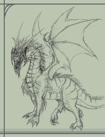 Dragon by Serain