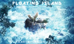Floating Island Photomanipulation by K8ArtStudio
