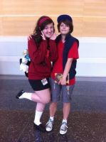 Ikasucon 2013 - Dipper and Mabel by GoodDokCosplay