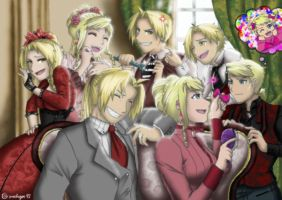 FMA- EdWin Family Portrait part 2 by amburger91