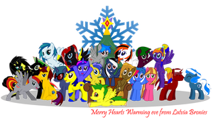 Merry Hearts Warming Eve from Latvia Bronies by AFtwi