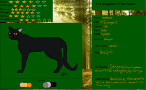 Needleblaze-The Forest Kingdom ref. by Ivywhisker99