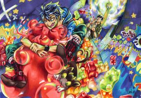 Haribo no Exorcist by Nami--chan