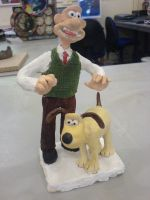 My Wallace and Gromit ornament by YanamationPictures