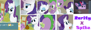 Rarity X spike Game by minimoose1231