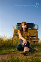 Yellow Ford by jakegarn
