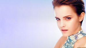 Emma Watson Silver Angel by Dave-Daring