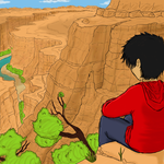 Allen at the Grand Canyon by Lil-lamb90