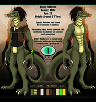 {--Clayton's reference sheet--} by Drawotion