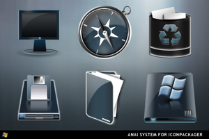 Anai For IconPackager by ipholio