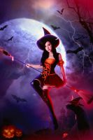 Bewitching Nidalee Cosplay//002 by Yayababy