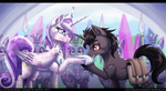 When That Unicorn Came to the Crystal Empire by InuHoshi-to-DarkPen