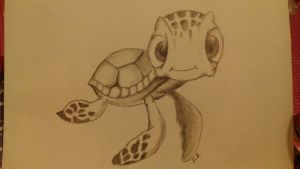 Little turtle by TheDeb