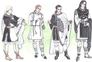 Gondorian clothing for men by Tindarien