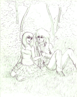 Commission - Ryou and Rei by AngelLust155