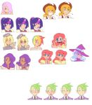 Expressions Sheet for Princess Destiny by mldoxy
