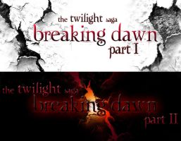 Breaking Dawn Banners by TheSearchingEyes