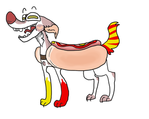 Offer on this hotdog dog - CLOSED by Pavv-Pads