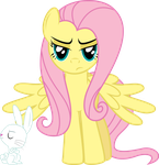 Fluttershy is not amused by abydos91