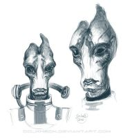 Mordin sketches by Dolmheon