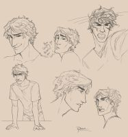 Jace Sketches by palnk