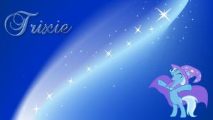 MLP Trixie Wallpaper #2 by DaChosta