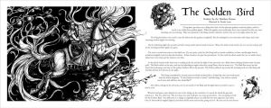 The Golden Bird - Book Layout by windfalcon