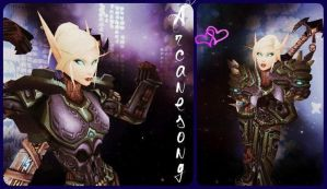 Arcanesong, my fail DK. by Elixxis
