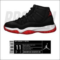"Air Jordan 11 Retro ""Playoffs"" by BBoyKai91"