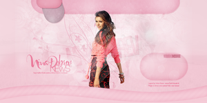 Header Nina Dobrev - Portfolio by DarkVisuals