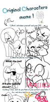 A DIFFERENT DOUBLE MEME !! by sarahhedgehog1
