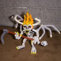 Skeletal Demon Mini by the-gil-monster
