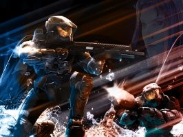 Halo 3: Keeping A Promise by theR3AP3R