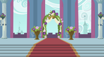 Background: Canterlot Wedding Altar by 90Sigma
