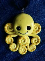Super Happy Octopus by BlackMagdalena