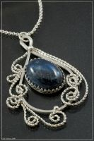 Filigree and Kyanite by craftal