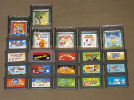 My GBC and GBA collection by T95Master