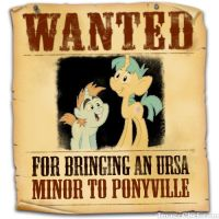 Equestria's Most Wanted: Snips and Snails by snakeman1992
