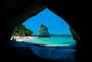 Cathedral Cove Roof by mark-flammable