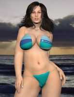 PlusSize Model - Poser Render2 by MattBrewer