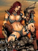 Red Sonja 1 by jluiz