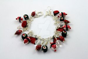 Sushi Charm Bracelet by BeautifulEarthStudio
