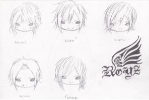 Chibi Royz by JapaneseMusic-Freak