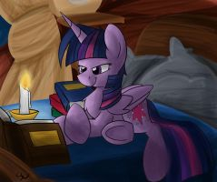 Twi in bed by Shadowlux100