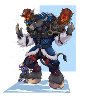 [Commission] Tauren by Wastelands-Knight